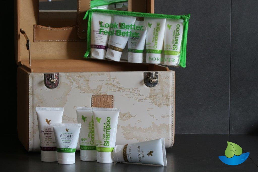 Forever aloe travel kit